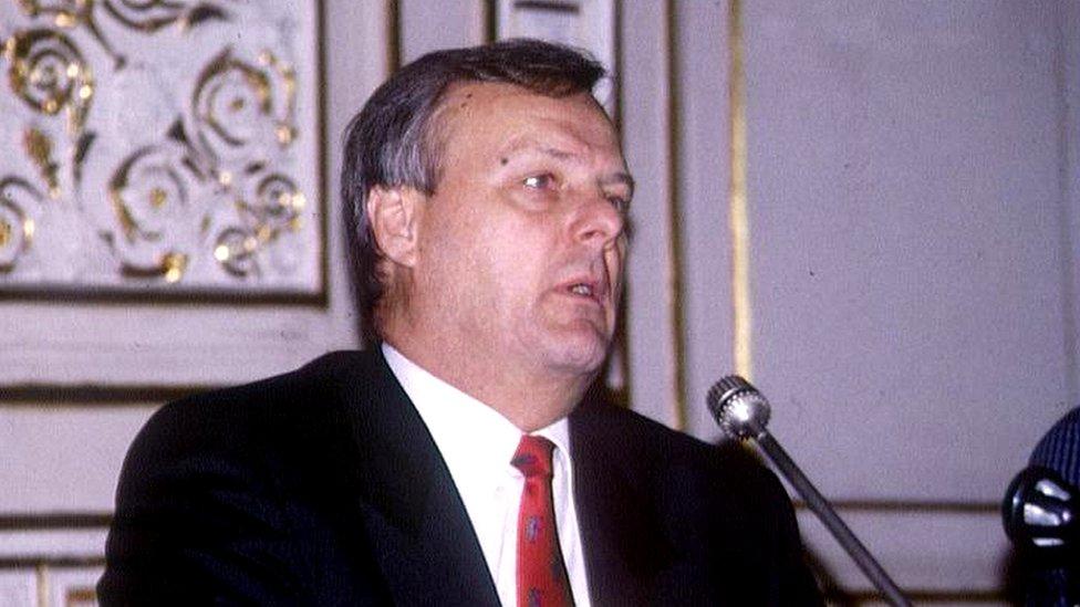 Anatoly Sobchak, excalcalde de San Petersburgo entre 1991 y 1996.