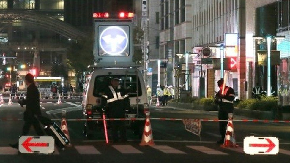 Jalan amblas di Jepang