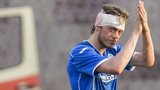 St Johnstone's Murray Davidson goes off injured