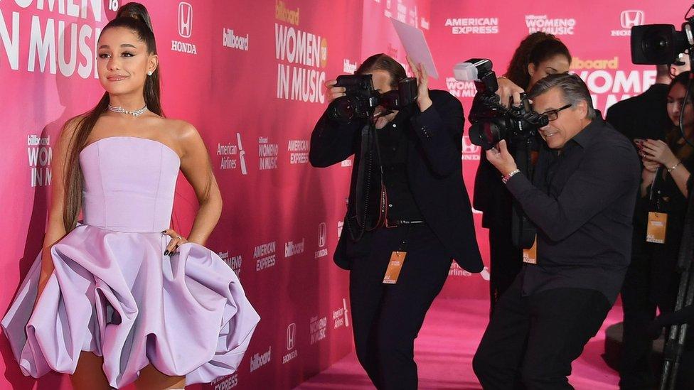 How did Ariana reach 'peak popularity'?