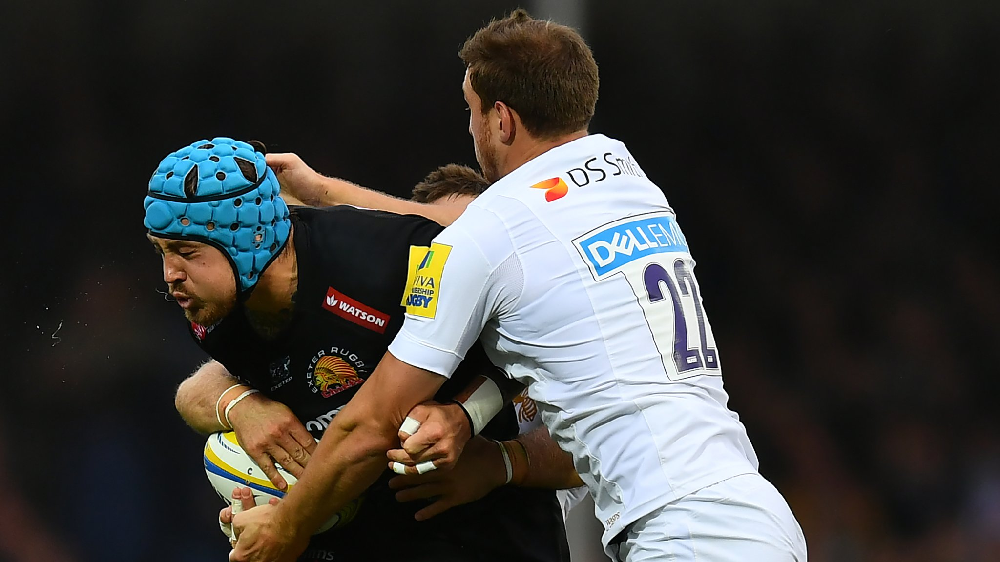 Exeter earn comfortable bonus-point win over Wasps