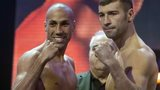 James Degale and Lucian Bute