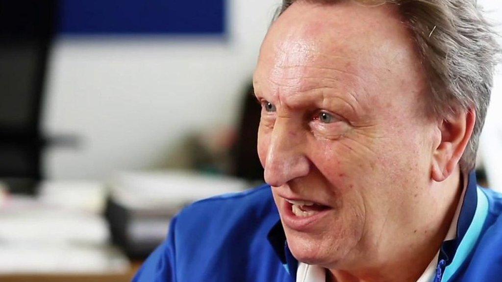 Neil Warnock: I enjoy management, and making people smile'