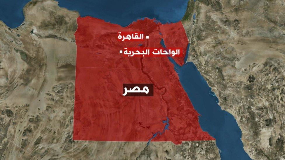 خريطة لموقع الهجوم