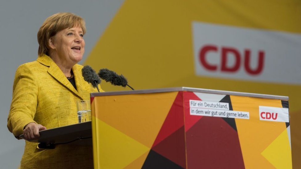 La política de Angela Merkel también se guió por la búsqueda de la estabilidad presupuestaria.