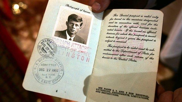 JFK, John F. Kennedy