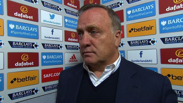 Sunderland 1-3 Norwich: Advocaat says everyone to blame for loss