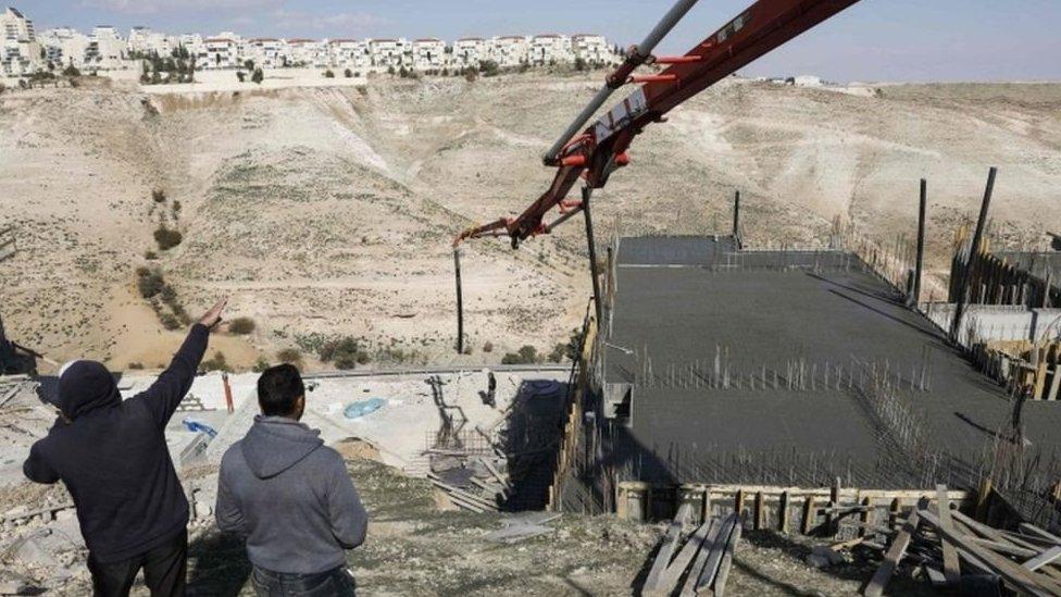 Construcción en Jerusalén
