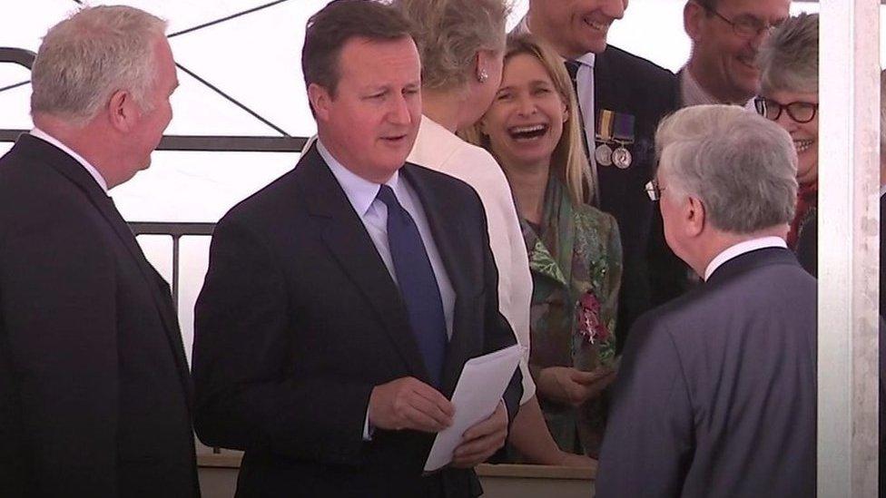 David Cameron: Lip read his words on manifesto