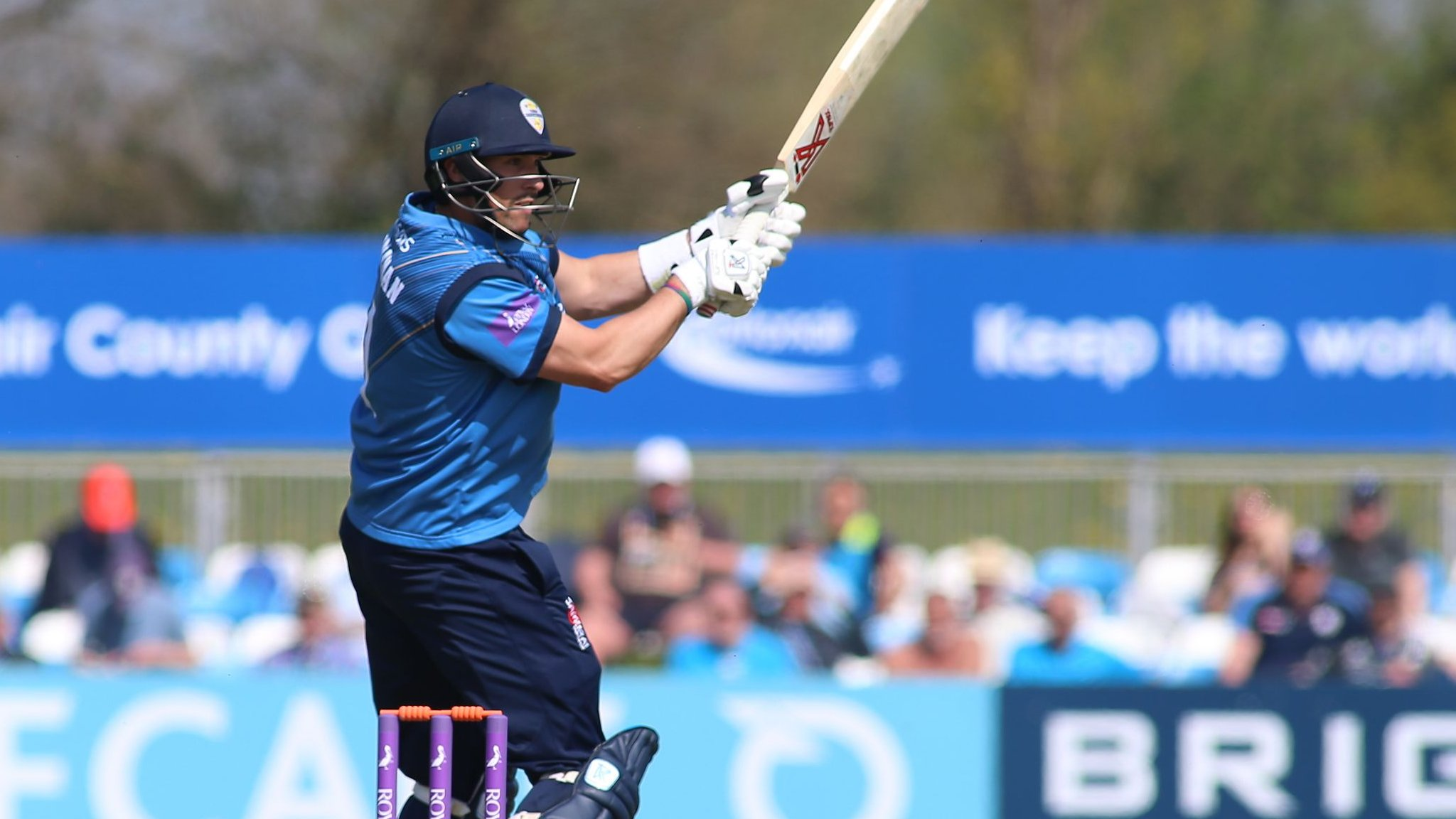 One-Day Cup: Godleman ton helps Derbyshire beat Leicestershire