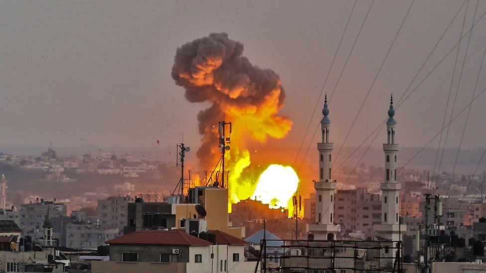 Israel carries out Gaza strikes as soldier dies from gunshot