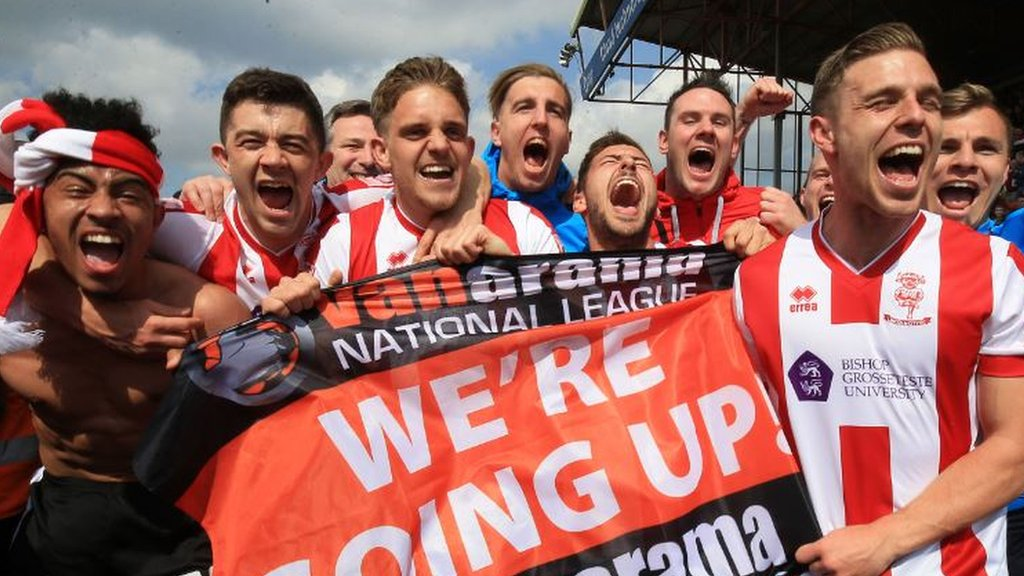Lincoln promoted, Swindon relegated - all the ups and downs