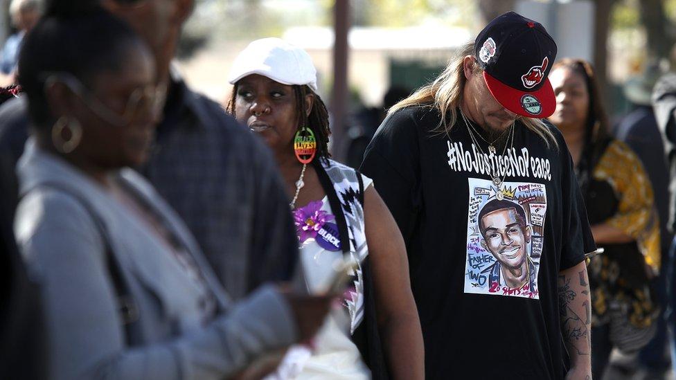 Funeral por Stephon Clark en Sacramento el jueves 29 de marzo