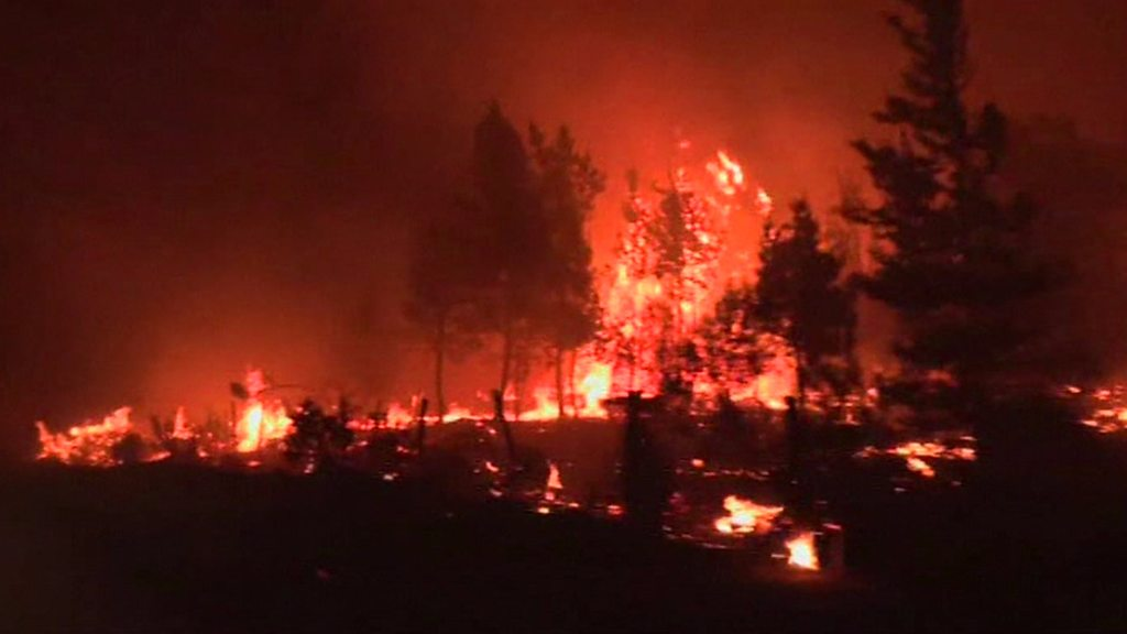 'Red alert' as Chile wildfires blaze