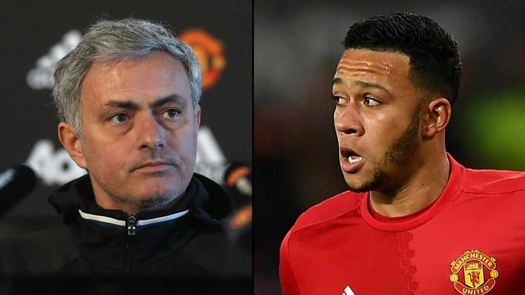 Memphis Depay: Jose Mourinho says forward is good enough for Man Utd