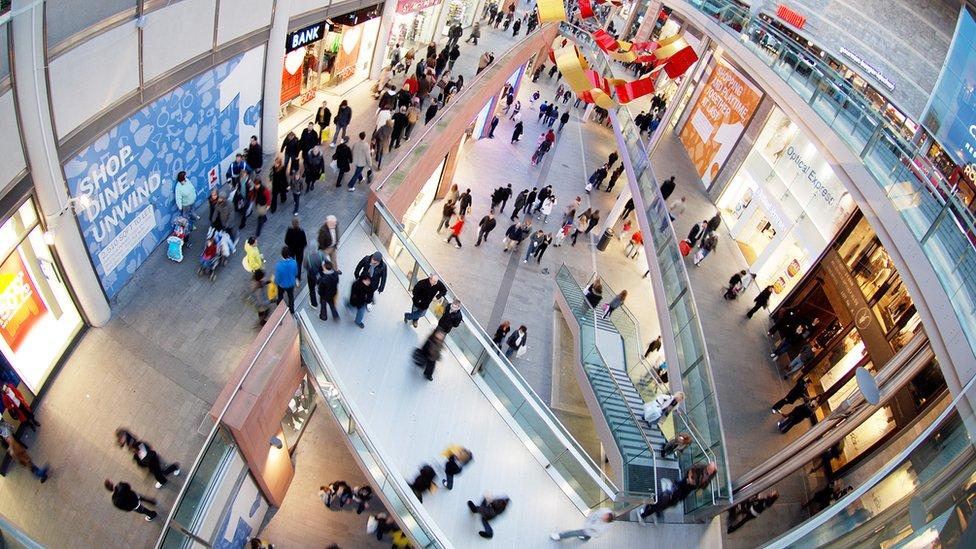 En América Latina existen cerca de 1.900 centros comerciales.