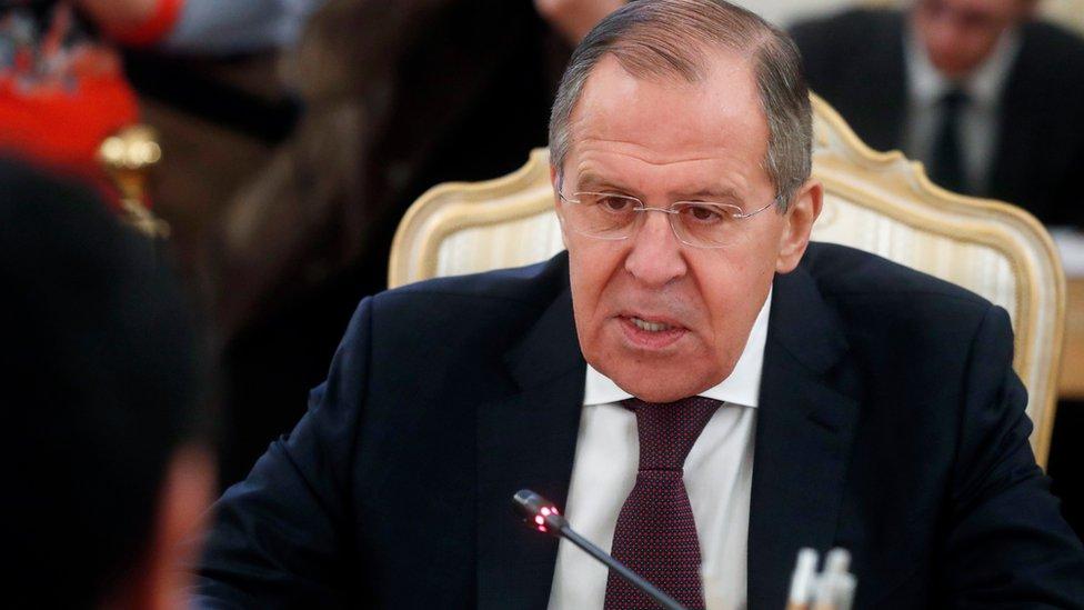 لافروف يقول إن العقوبات انتهت فعاليتها ويجب استئناف المفاوضات