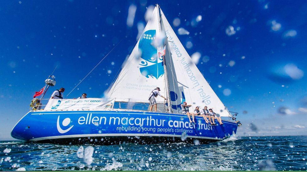 Patients complete Ellen MacArthur Cancer Trust sailing challenge