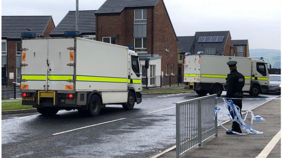 Londonderry alert declared 'elaborate hoax'