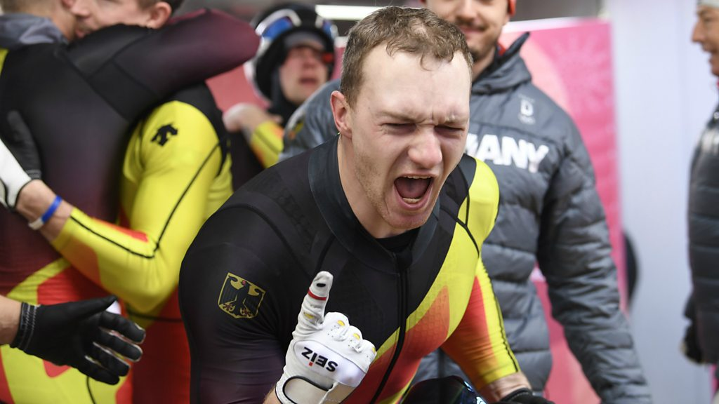 Winter Olympics: Dead heat for silver as Germanys Friedrich dominates four-man bob