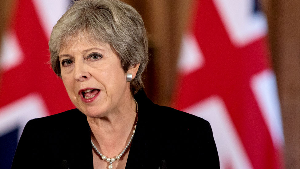 Theresa May: EU must respect UK in Brexit talks