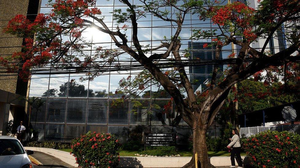 La sede del bufete en Panamá. Allí trabajaban 370 empleados y había otros 600 alrededor del mundo. (Foto: Rodrigo Arangua)
