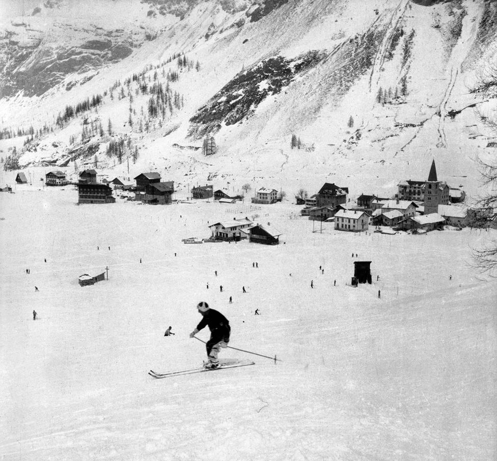 Val d'Isère en 1938