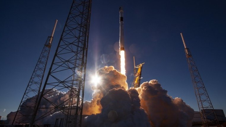 SpaceX launches military satellite after four attempts