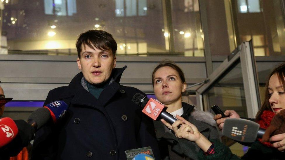 Савченко выложила список пленных, которых навестила в