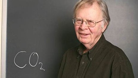 Climate change: Death of the 'grandfather of climate science'