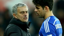 Jose Mourinho and Costa