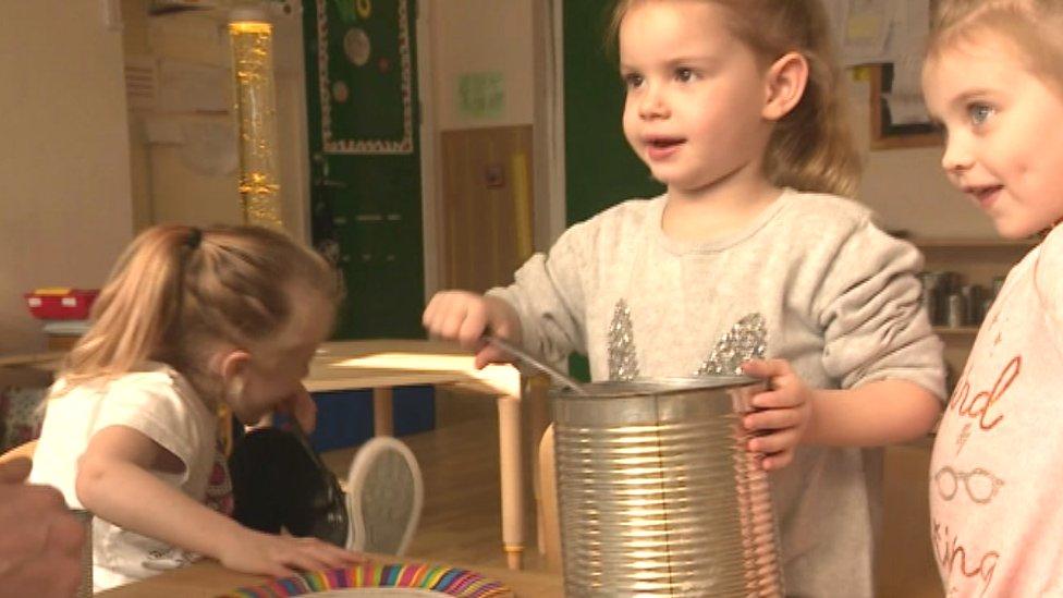 Bristol nursery locks toys away for a month
