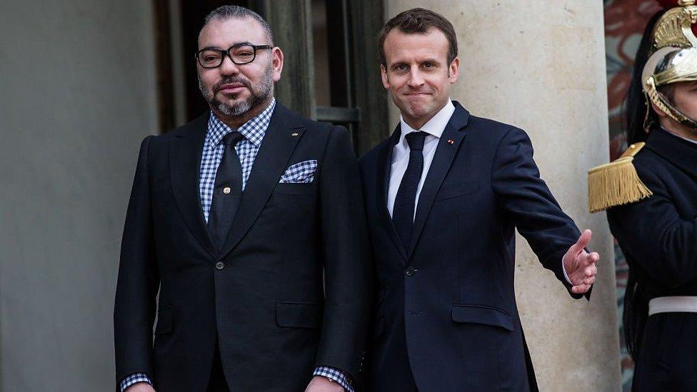 Macron inaugure le TGV au Maroc