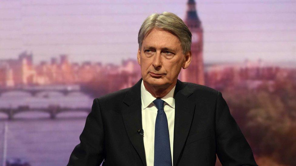 فيليب هاموند وزير الخزانة البريطاني