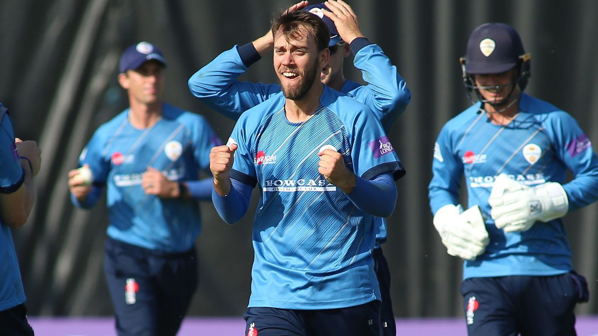One-Day Cup: Alex Hughes stars as Derbyshire ease past Northants