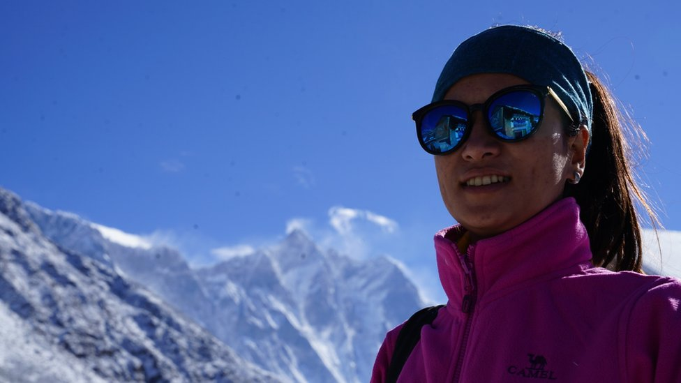 100 Women: 'Record number' of Nepalese women climbing Everest this season