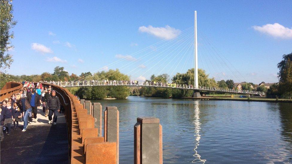 Reading's new bridge