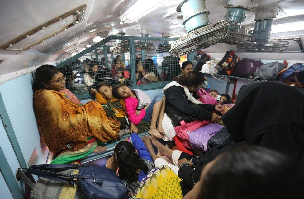 Women's compartment