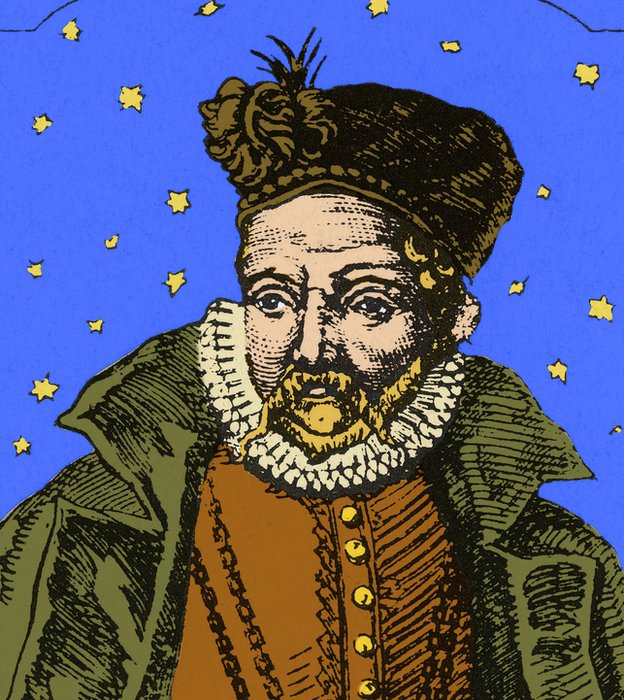 Sus observaciones sólo fueron mejoradas después de la invención del telescópio.