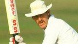 Clive Rice bats