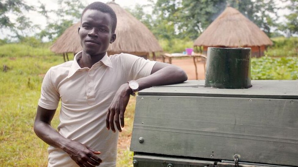 The African student trying to solve the food waste crisis