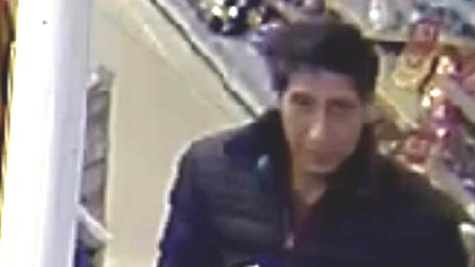 Blackpool Police hunt Ross from Friends 'lookalike'