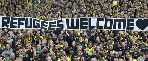 Borussia Dortmund banner