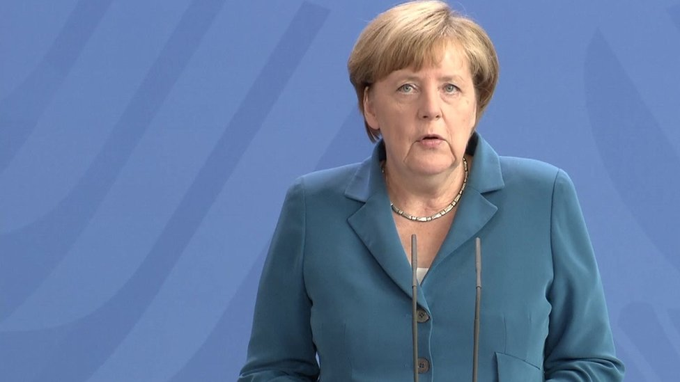 Angela Merkel: 'We are in deep and profound mourning'