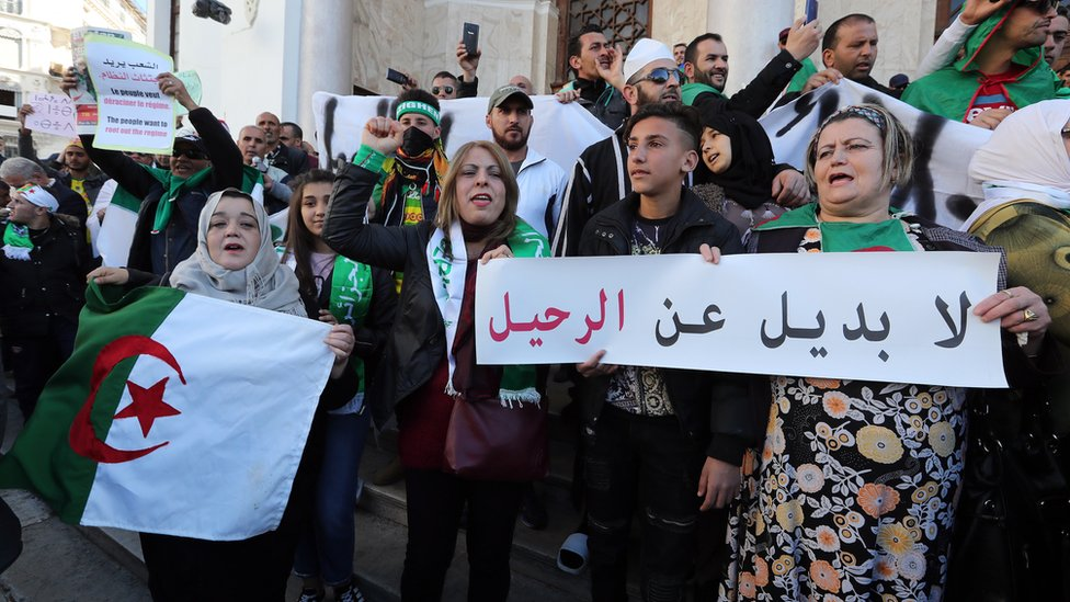 Truth or Not? Algerians call for Bouteflika resignation despite poll delay