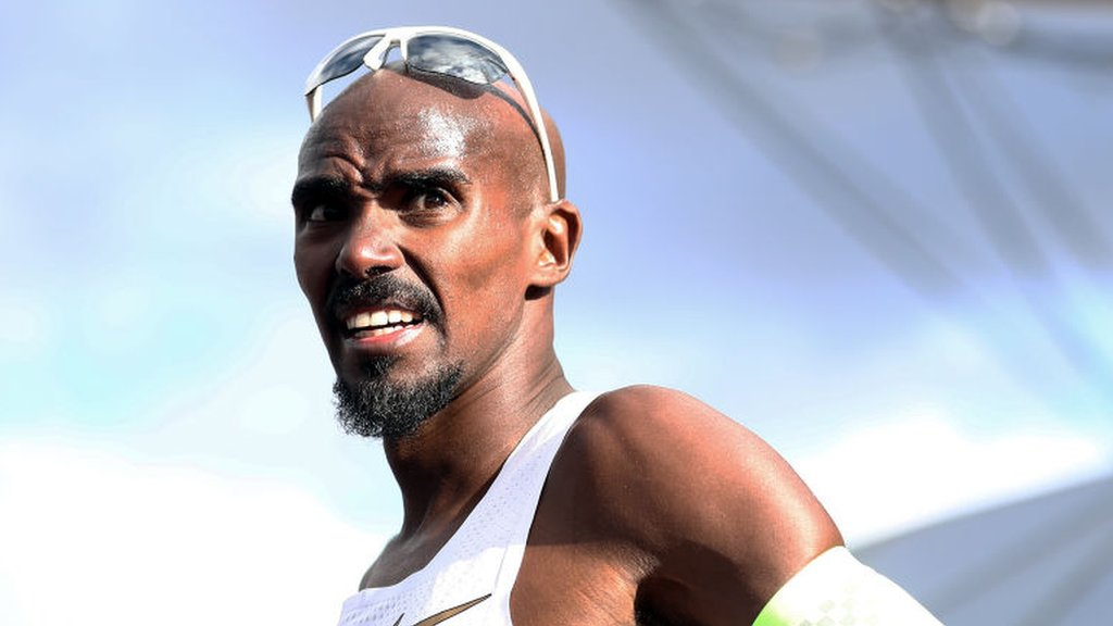 Mo Farah's coach says athlete was victim of attack in Haile Gebrselassie's hotel