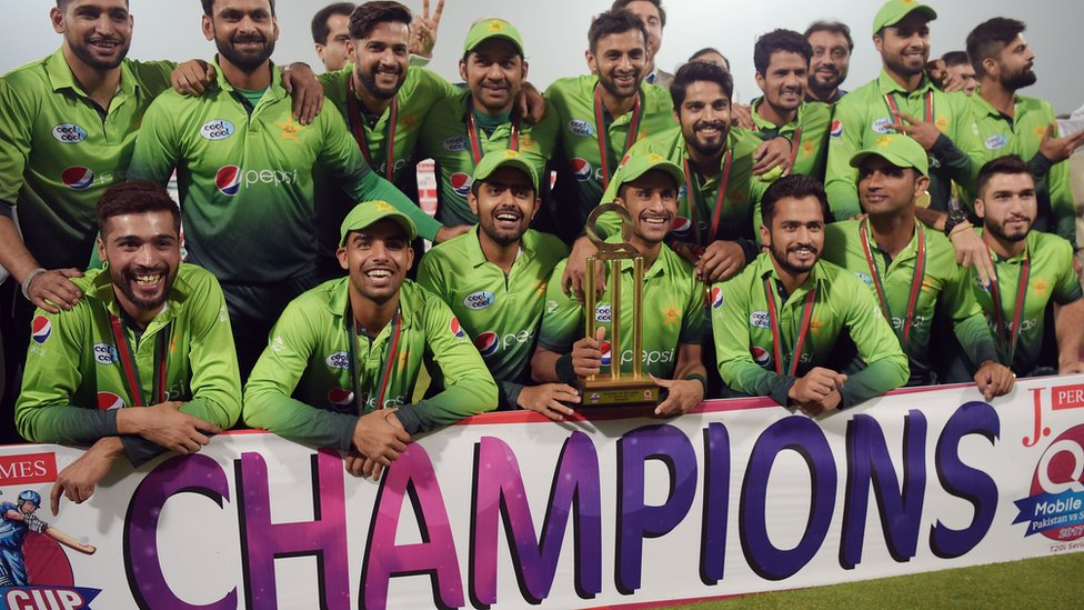پاکستان پہلی بار عالمی ٹی 20 رینکنگ میں سرفہرست