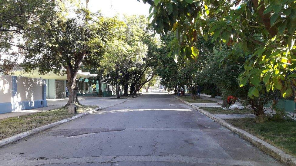 Calle de el Vedado.