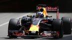 Ricciardo takes maiden pole in Monaco