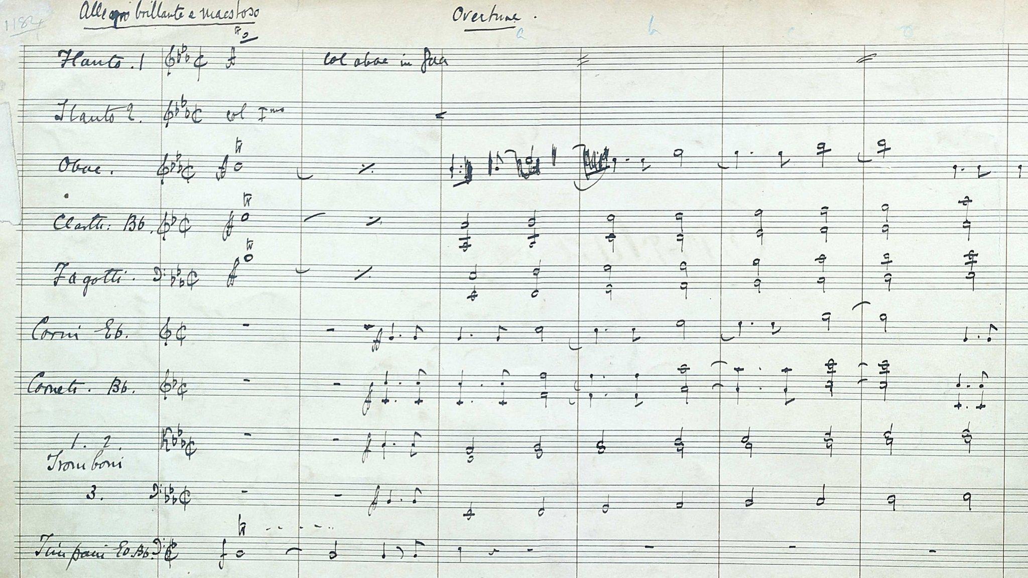 Gilbert and Sullivan score restored